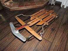 Original Dutch children's sledge