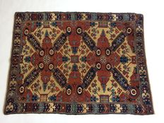 Hand knotted, Russian Seygur rug; ca. 1880