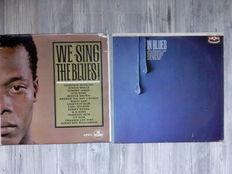 Lots of 4 Blues Records, 3 Compilation and 1 Album, We Sing The Blues RARE, Blues Anytime Vol.1 - An Anthology Of British Blues, American Folk Blues Festival '66, Jimmy Witherspoon – In Blues