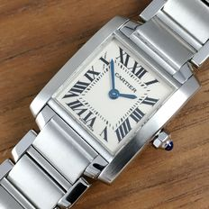 Cartier Tank Française ladies' watch