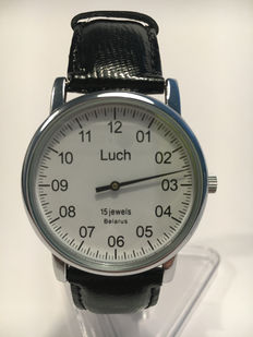 Luch Einzeiger Single-hand – Men's wristwatch
