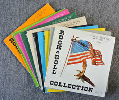 Rock & Roll and Rockabilly collection on 10 rare Blend bootleg albums