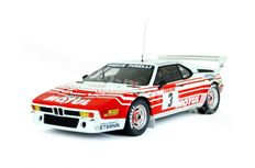 Otto Mobile - Scale 1/18 - BMW M1 Groupe B rally Tour de Corse 1983 #3