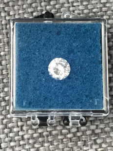 1.01 ct Brilliant cut diamond H Loupe Clean IF GIA certificate
