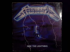3 Original Mettalica Albums, 2 LP Metallica, Ride The Lightning and The $5.98 E.P. - Garage Days Re-Revisited