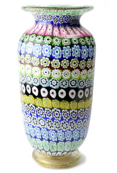Amedeo Rossetto (Eugenio Ferro & Co. ) - Large Millefiori Vase