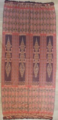 Ikat with lizards patterns - Sumba - Indonesia