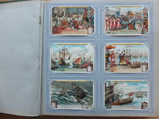 Liebig -  300  cards in the original album - from 1896 to 1928