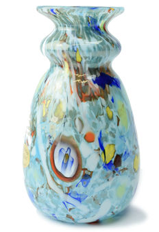 Rubelli Glassworks - Vase ( model with Murrine )
