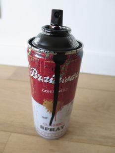 Mr Brainwash - Spray Can (black)