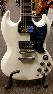 New BACH-  limited edition SG - Olympic White model, made in Czech Republic
