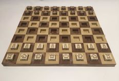 Dice chess set. Very rare design