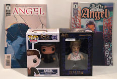 Buffy the Vampire Slayer - Spike - Angel - Comics, Figures, Titans Vinyl Figures, Pop Television,Dark Horse Comics
