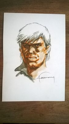 Hermann - Original drawing - Bernard Prince