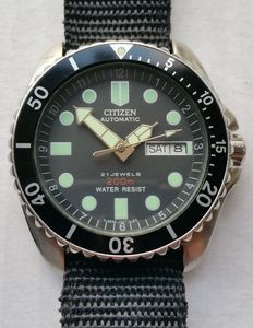 Citizen 200m Scuba Diver - Wristwatch - from the 90th's