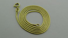 14k gold necklace, 5.04 grams