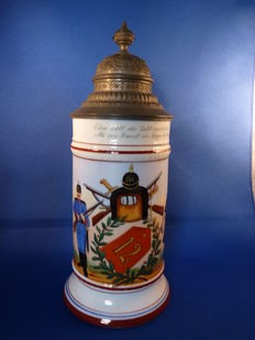 German reservists jug 12th Bavarian infantry regiment.