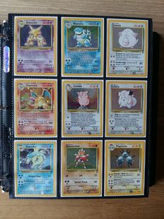 Pokemon Base 2 SET near Complete, 129/130 Cards NM to mint.