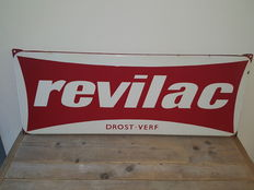 Revilac - Emaille reclamebord