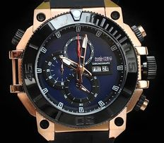 NNL Nautec No Limit Seabridge Diver Chronograph - men's wristwatch - new model 2017