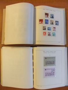 Poland 1918/1976 – Collection in 2 old albums