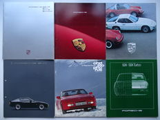 1978 - 1990 - PORSCHE 911, 924, 924 Turbo, 944, 944 S, 944 S2 Cabriolet, 944 Turbo, 928 - Mixed lot of 6 sales brochures & Christophorus magazine