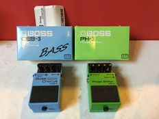 Boss - PH-3 Phase shifter & CEB-3 Bass Chorus