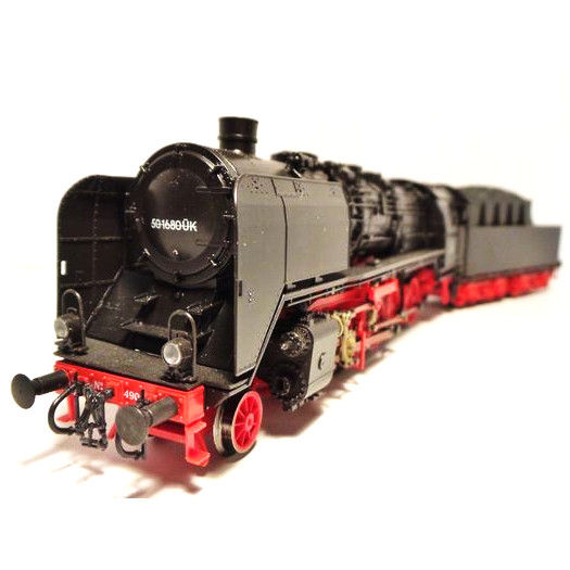 Roco H0 - 63296 - Steam locomotive with towed tender Series 49 of the NS (ex DRG BR 50)