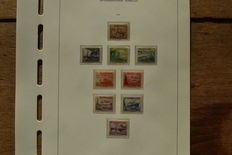German Empire/Reich - 1937/1939 - collection on pre print sheets