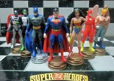 Batman vs Superman chess set