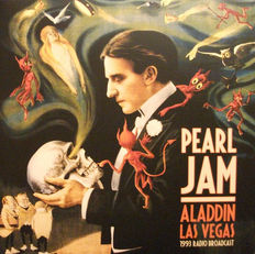 Lots of 3 Pearl Jam, 2 LP Aladdin Las Vegas 1993 Radio Broadcast, Live In Seattle 95: Spin The Black Circle 180 Grams, Vs Color Green