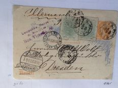 South America – Collection of postal used postal items, incl. censored items