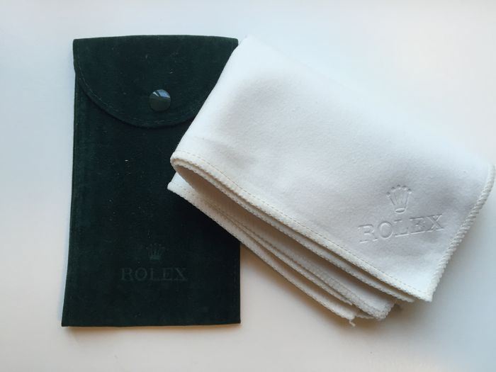 Rolex travel bag and Rolex polishing cloth