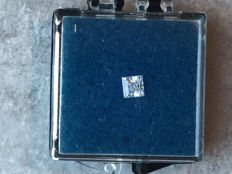 1.00 ct Princess cut diamond, G VVS2 GIA certificate