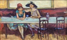 Unknown - ladies in café