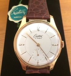 Création - Swiss men's wristwatch - from 1958, new from an old inventory