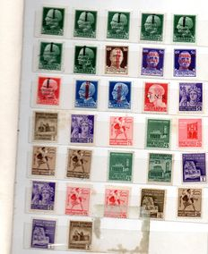 Italy - Italian Social Republic - Lot of stamps
