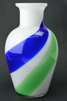 "Rubelli Glassworks - ""Double Helix"" Vase"
