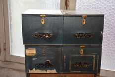 Set of decorative archive boxes from 1968