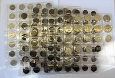 Kingdom of Italy – V. Emmanuel III – Lot of 171 coins (including 3 silver coins)