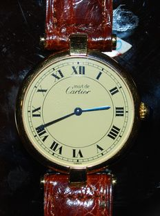 'Must de Cartier' – Vermeil – Unisex watch