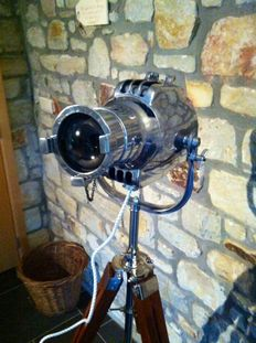 Strand Patt Type 23 Vintage Stage Lamp with tripod