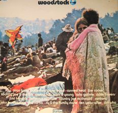 """""""Woodstock"""" on the legendary Cotillion label (3 l.p's).  The orig. music from """"American hot wax"""". The orig.music from  """"Let the good times roll"""". And the famous Guitar Album."""