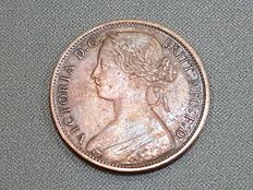 United Kingdom – One Penny 1867 – Queen Victoria