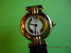 Cartier Paris Vermeil - Womens wristwatch - from 1996