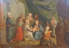 Unknown (18th century) - showing baby Jesus