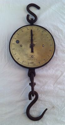 Grote Industrial Salter's N 20T trade spring Balance  - Engeland - ca. 1870