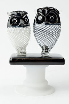 De My Giuliano - Pair of collectible owls
