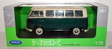 Welly-NEX - Scale 1/18 - Volkswagen Microbus 1963 Sunroof edition