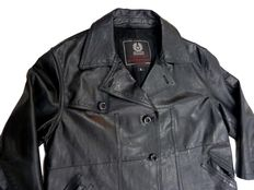 Belstaff Gold Label – Leather motorcycle jacket.